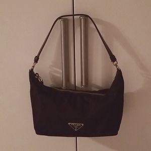 Authentic vintage nylon Prada hobo bag